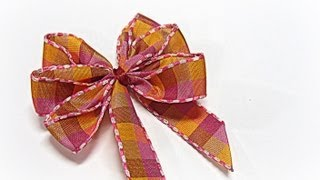 Repeat youtube video Perfect bows (easy). Lazos perfectos.