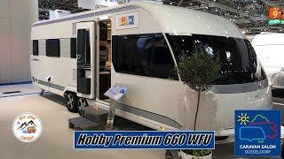 Vorstellung des Hobby Premium 660 WFU auf dem Caravan Salon 2019
