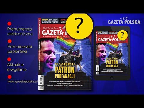 Z tygodnikiem #GazetaPolska naklejka - mocna odpowiedź na tęczowe prowokacje i atak ideologi LGBT❗️