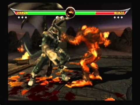 Mortal Kombat Armageddon-Who is Stronger Blaze Or Onaga ...