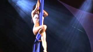 Miss Nude Australia Arianna Starr Curtain Acrobatics