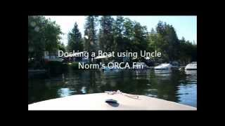 How to Dock a Boat - Simple with Uncle Norm
