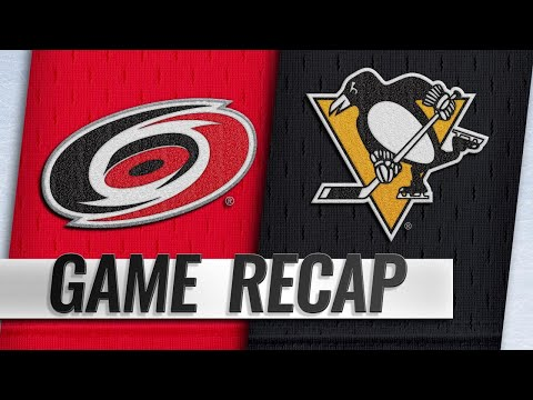 Sports Wrap with Ron Potesta - Penguins Top Hurricanes