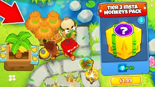 RANDOM Insta-Monkey CHALLENGE! What Monkeys Do We Get?! Bloons TD 6