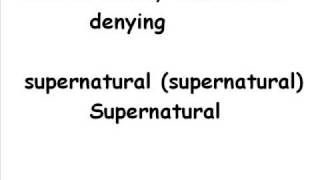 DC Talk – Supernatural