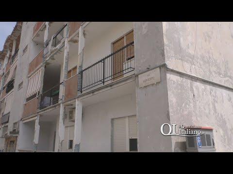 Bari, palazzo in via Agrigento cade a pezzi: Arca promette intervento