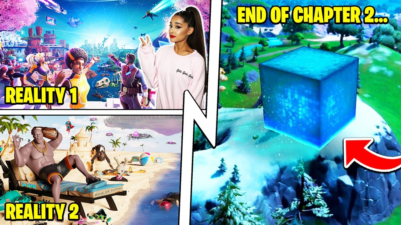 The RIFT TOUR Event, Season 8 END of Chapter, Ariana Grande Concert!