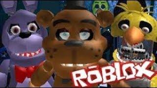 los animatronicos en roblox