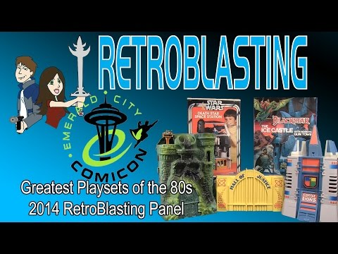 Emerald City Comic Con 2014 Playsets of the 80s Panel RetroBlasting