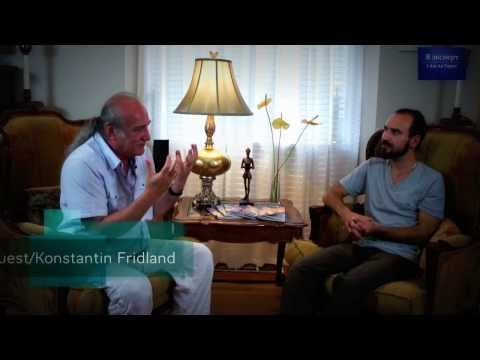 TV Interview of Healer Konstantin Fridland (Constantine Freedland) about Intuitive Active Meditation