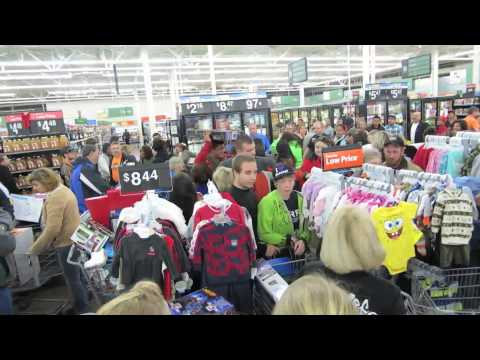 Black Friday #WalmartFights Insanity Goes Viral On Twitter