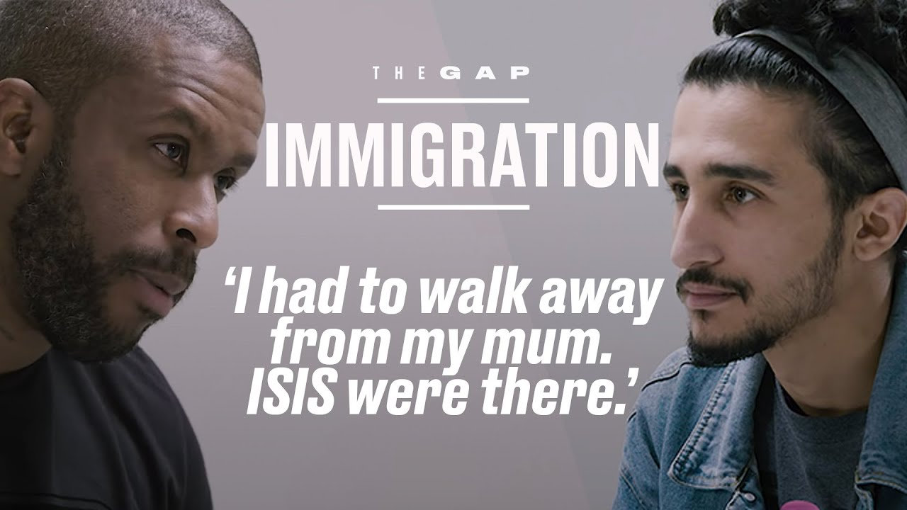 Old Immigrant Meets Young Immigrant | The Gap | LADbible