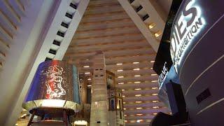 Luxor Pyramid king suite Tour - Vegas Vacation