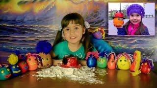 КАПИТОШКИ !!! Юля спасает город! Детское творчество для детей с детьми поделки с детьми для детей
