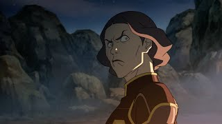 Lin angry with Toph - The Legend of Korra (Full Scene)