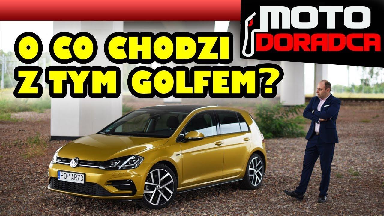 Test Volkswagen Golf 7 FL z nowym silnikiem 1.5 TSI #MOTODORADCA