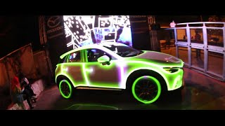 projection mapping at hype hotel 2016