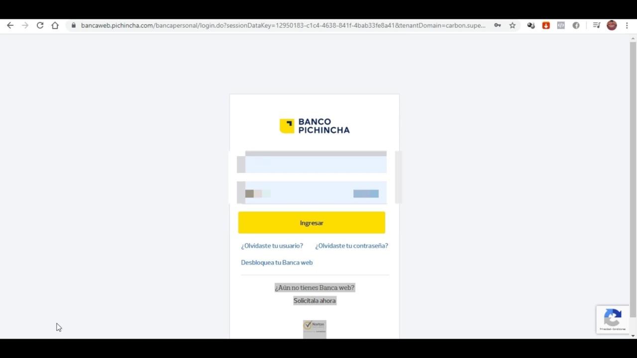 Como Hacer Una Transferencia Banco Pichincha Directa E Interbancaria 2019 Actualizado Youtube
