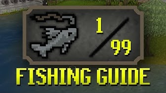 [OSRS] Updated 1-99 Fishing Guide (Fastest/Profitable Methods + Tricks)
