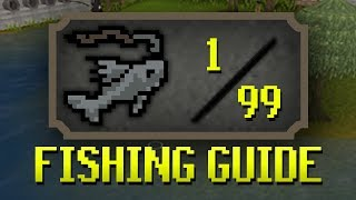 [OSRS] Updated 1-99 Fishing Guide (Fastest/Profitable Methods + Tricks)