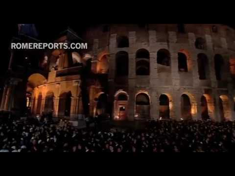 Pope during Way of the Cross at Colosseum: we are shameful, but have a heart full of hope
