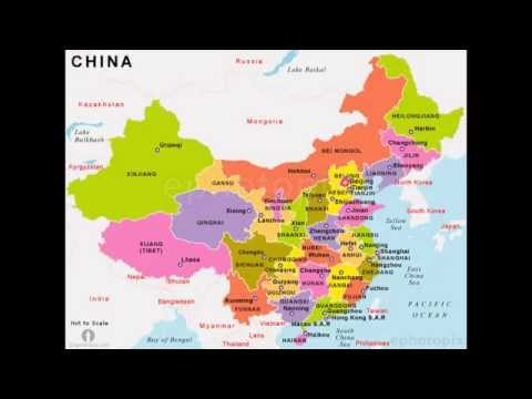The Provinces, Muncipilities, Autonomous Regions, Special Administrative Regions of China