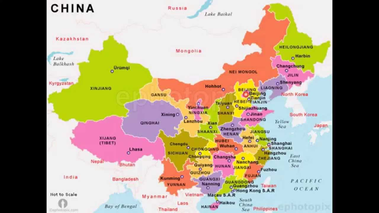 The Provinces Muncipilities Autonomous Regions Special - China map states cities map