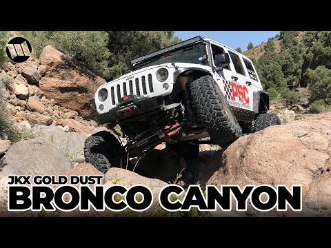 JK Experience GOLD DUST: BRONCO CANYON Shakedown Jeep Wrangler Off Road Adventure NITTO JKX Part 1
