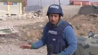 مراسل سكاي نيوز عربية يرافق البشمركة ببعشيقة