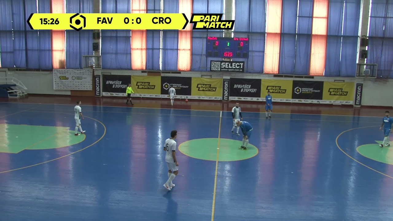 Матч повністю | FavBet 0 : 2 CRO United