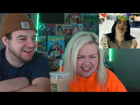 Billie Eilish - Therefore I Am (Official Music Video) | COUPLE REACTION VIDEO