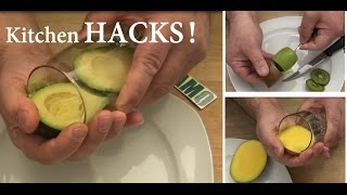 How to peel Kiwi, Avocado and Mango - EASY & FAST!