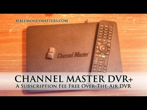 Channel Master DVR+: A Subscription Fee Free Over-The-Air DVR To Help You Cut The Cord