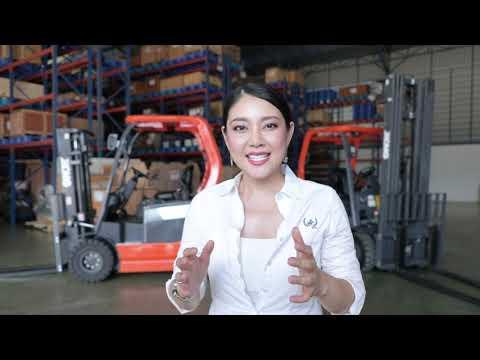【Electric Forklift】สุดยอดโฟล์คลิฟท์ไฟฟ้า ช่วยลดโลกร้อน🌎