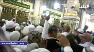 بالفيديو.. توافد الحجاج على مسجد قباء للصلاة رغبة في ثواب العمرة