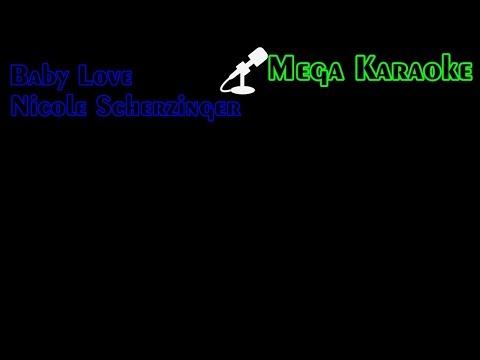 Baby Love - Nicole Scherzinger (Karaoke)