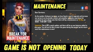 The Game Is Not Opening Free Fire New Update Is Live Free Fire Live- AO VIVO