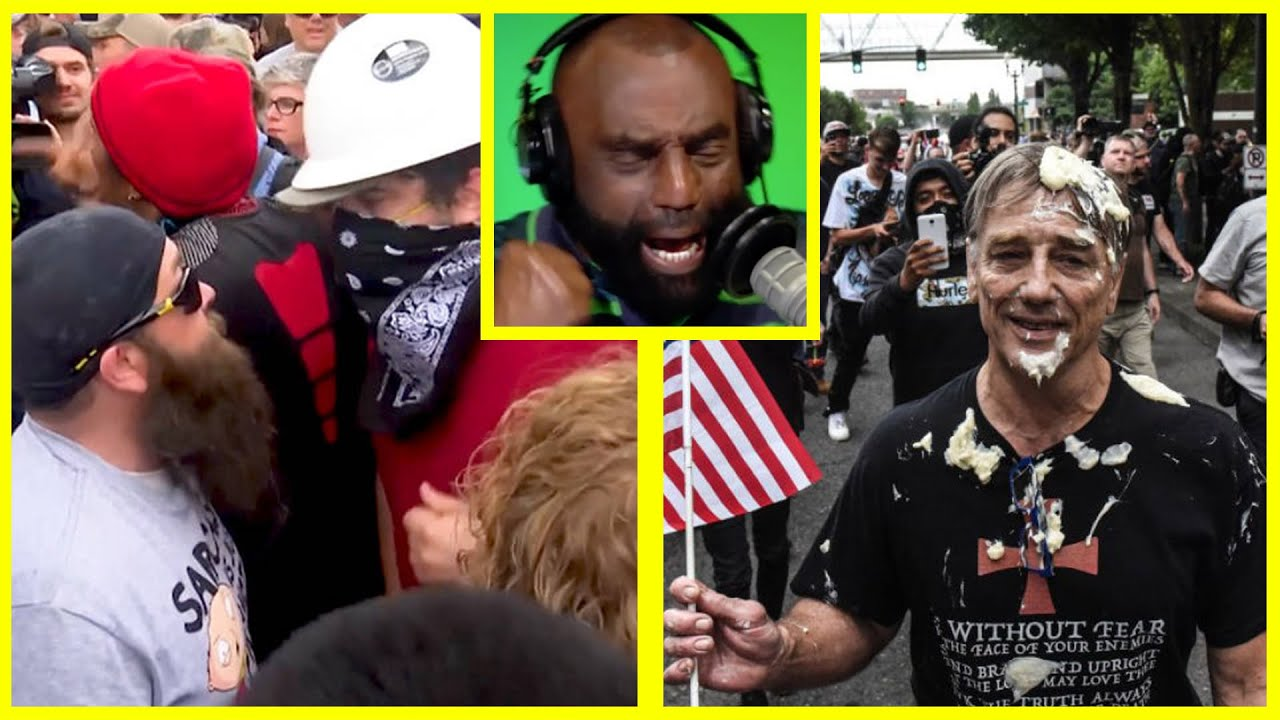 Jesse Lee Peterson Media Condemns Right Wing Extremism While ANTIFA Attacks