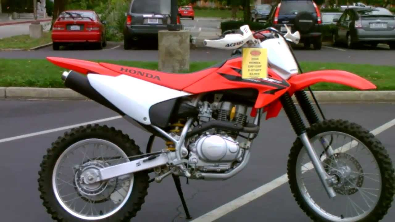 Contra Costa Powersports Used 2006 Honda CRF150F 4 Stroke Dirt Bike Green  Sticker Motorcycle   YouTube