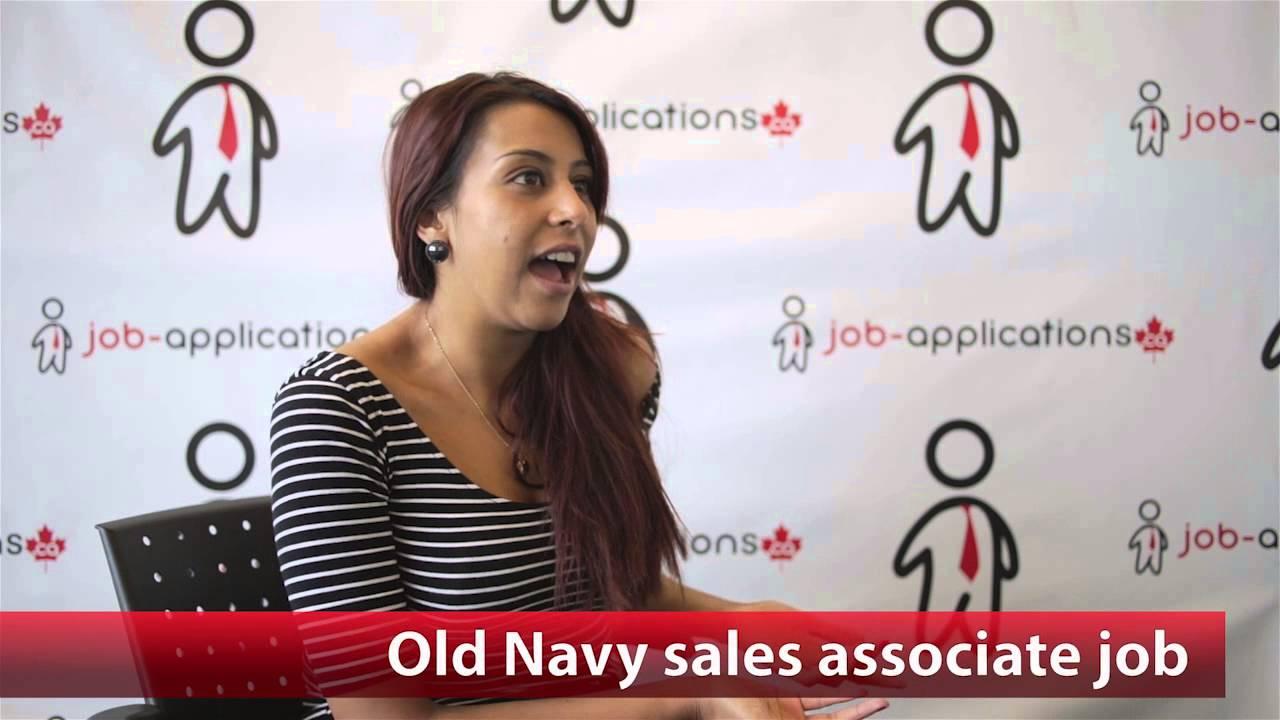 old navy s associate job