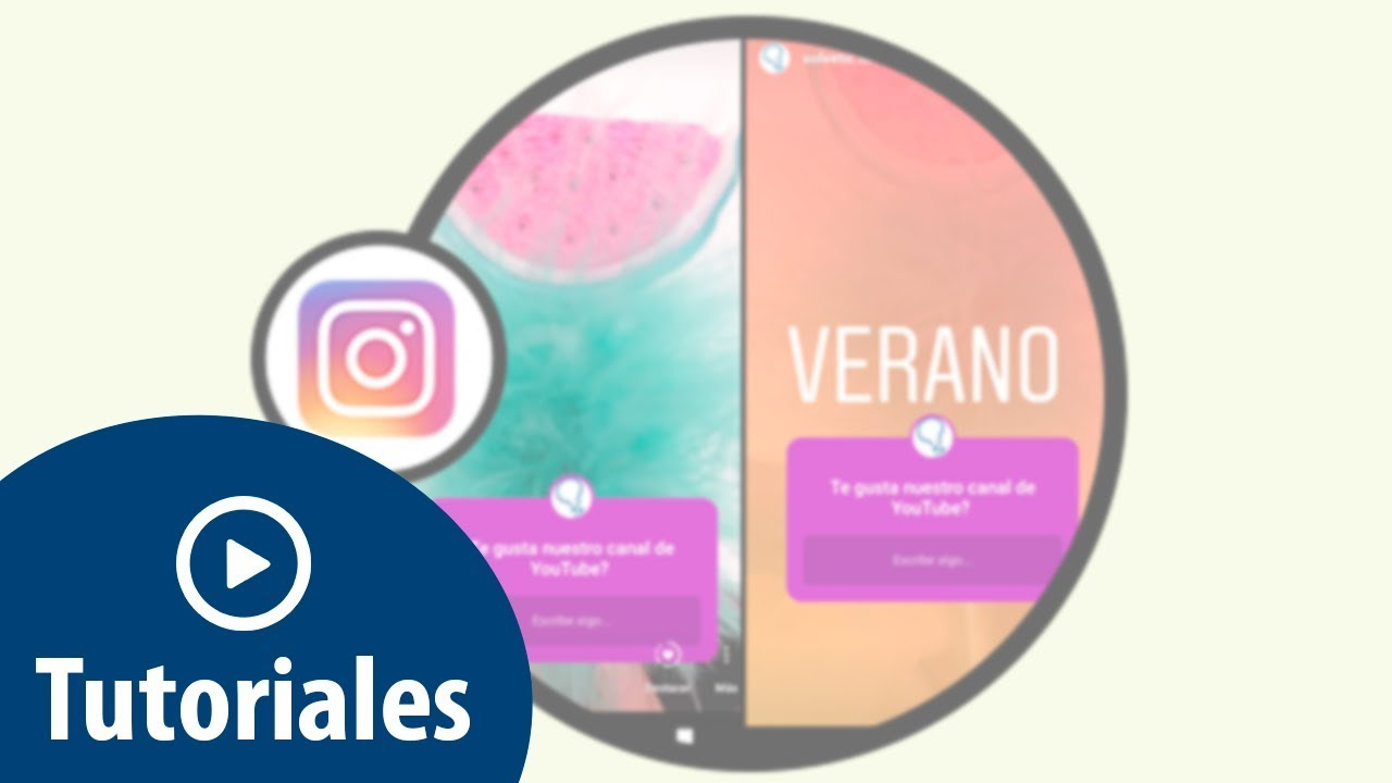 Como Poner Foto De Fondo En Pregunta Historia Instagram Youtube