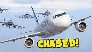 GETTING CHASED in GTA 5 FiveM Flight Simulator