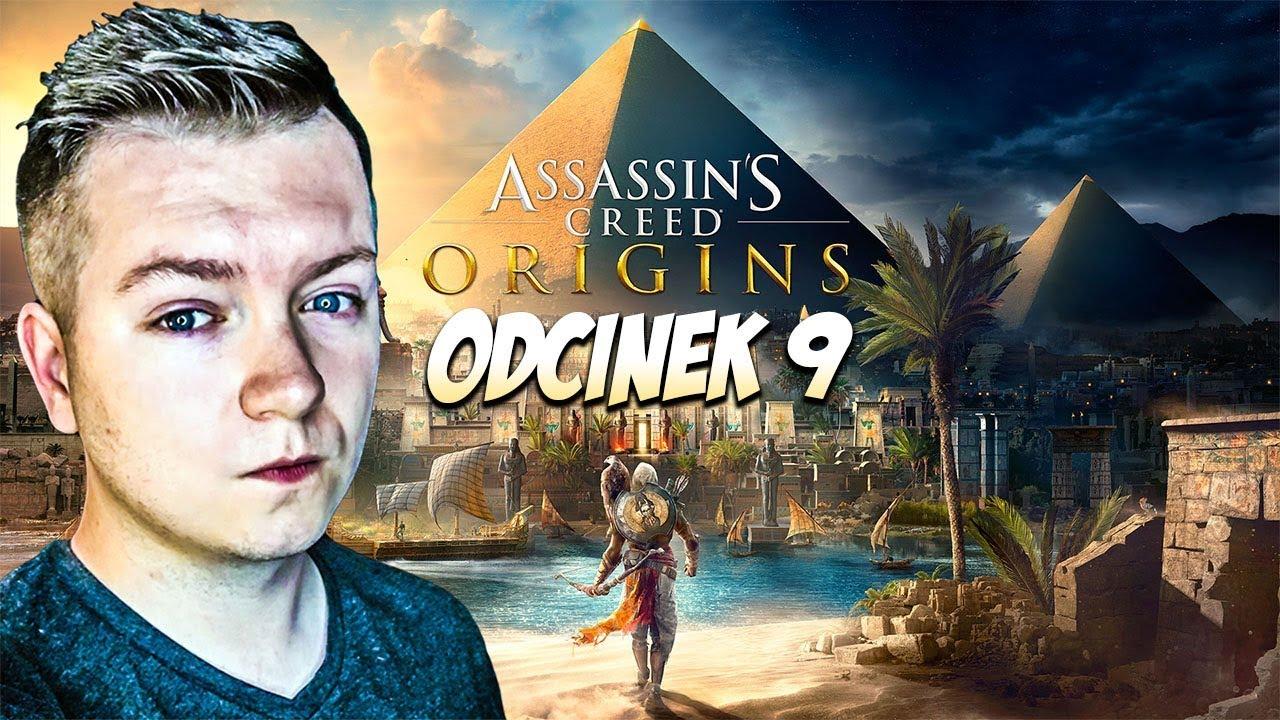 Assassin's Creed Origins PL #09 – KLEOPATRA!   PC 1080p60fps   Vertez