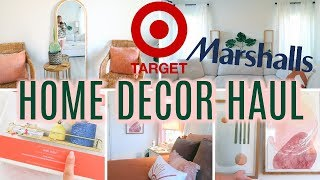 TARGET & MARSHALLS Home Decor HAUL/TOUR