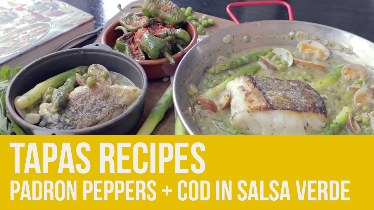 Tapas! Padron Peppers + Cod in Salsa Verde | Omar Allibhoy at Jones The Grocer Dubai