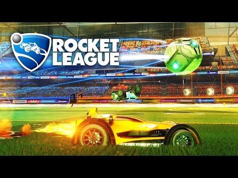 Rocket League - STREAM TEAM WINNING RAMPAGE GAMEPLAY! (Rocket League Gameplay)