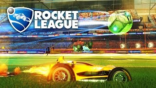 Rocket League - STREAM TEAM WINNING RAMPAGE GAMEPLAY! (Rocket League Gameplay)