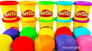 Play-Doh Surprise Egg Toys Inside Out Minions Minecraft Thomas & Friends Mickey Mouse Cars 2 Balls