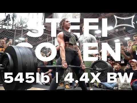 Stefi Cohen | The Limit Does Not Exist | 545lb Deadlift PR