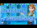 Anna Party Dress Design Gameplay - Frozen Anna Games | Baby Girl Games